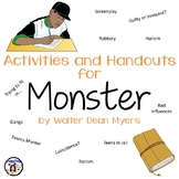 Activities and Handouts for Monster by Walter Dean Myers