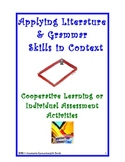 Activity Tasks to Teach Grammar & Literature Elements in Context