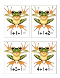 Adding 3 single digit numbers -- Bet'cha Can't! Activity