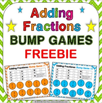 Adding Fractions Free