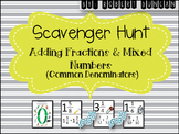 Adding Fractions and Mixed Numbers (Common Denominators )