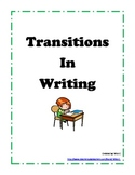 Adding Transitions to Writing
