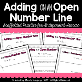 Adding on an Open Number Line