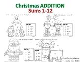 Addition Christmas Mini Set - Sums 1-12