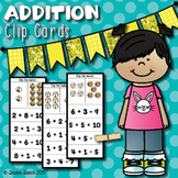 Addition Clip Cards