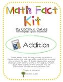 Addition Math Facts Kit