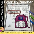 Addition Multi-Digit Whole Numbers Within 1000 - Color You