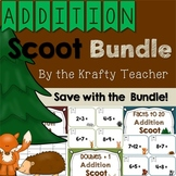 Addition Scoot Bundle Back to School