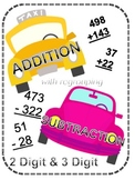 Addition & Subtraction Regrouping (2 & 3 digits)