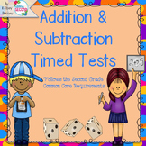 Addition and Subtraction Timed Tests