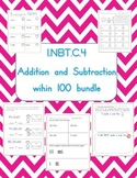 Addition and subtraction within 100 packet