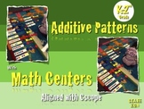 Additive Patterns. Math Centers K-2nd