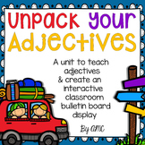 Adjectives - Lessons, Interactive Bulletin Board & Interac
