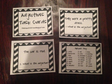 Adjectives Task Cards- ALREADY MADE- READY TO USE