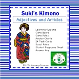 Adjectives and Articles:  Suki's Kimono