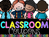 Adorably Fun Classroom Coupons