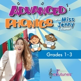 Phonics Songs for 1st, 2nd, and 3rd Grade / Common Core - Aligned