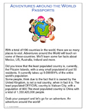 Adventures Around the World Passport