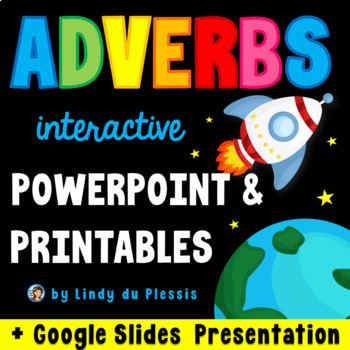 Adverbs {PowerPoint and Worksheets}