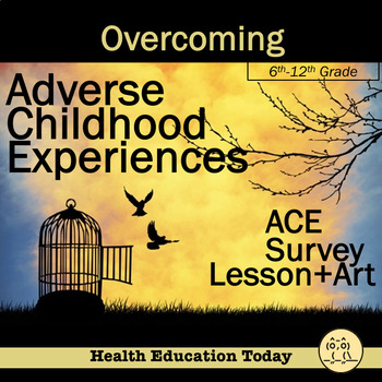 Adverse Childhood Experiences-ACE Survey + Lesson Plans fo