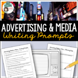 Advertising and Media Literacy Writing Prompts