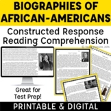 African-American Heroes: Responding to Text-Based Inferent
