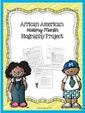 Black History Month Biography Project