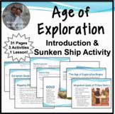 Age of Exploration Introduction Notes w/Sunken Ship Activi