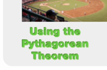 "Algebra 1: (Geometry.9) ""Using the Pythagorean Theorem"" Pr"