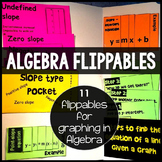 Interactive Notebook: Graphing in Algebra (11 flippables)