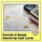 Algebra 2 Domain and Range Match Activity