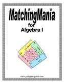 Algebra I MatchingMania