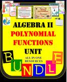 Algebra II - Polynomial Functions UNIT 36 resources