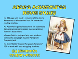 Alice's Adventures in Wonderland Novel Study-Common Core Aligned