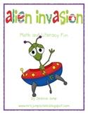 Alien Invasion Math and Literacy Fun