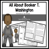 All About Booker T. Washington  An Informational Text Inte