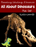 All About Dinosaurs Book and Worksheets