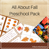 All About Fall Preschool Pack