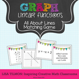Graphing Linear Equations Matching Game