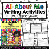 All About Me - 24 Beginning of the Year Writing Activities