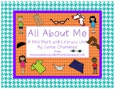 All About Me: A Mini Math and Literacy Unit