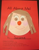 All About Me Theme Book