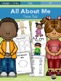All About Me Theme Lesson Plan