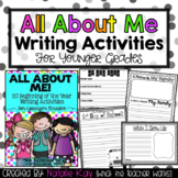 All About Me - Younger Grades - 20 Beginning of the Year W