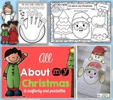 All About My Christmas Craftivity and Printables