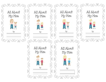 All About My Mom - Mother's Day Booklet