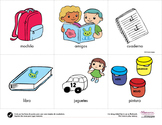 All About My School {Spanish printable activities}
