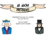 All About Presidents Unit