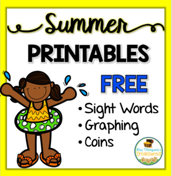 All About Summer - Print and Go - FREE