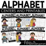 All About the ABCs Interactive Printables {Alphabet Bundle}